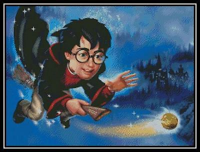 Harry Potter - Cross Stitch Chart/Pattern/Design/XStitch