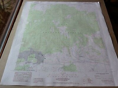1983 Dept Of Interior Topo Map Lot #69, Old Mammoth, Calif., Mammoth Lakes