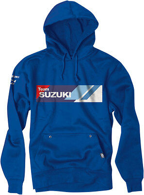 Factory Effex Official Licensed SUZUKI Team Pullover Hoodie (Blue) XL (X-Large)