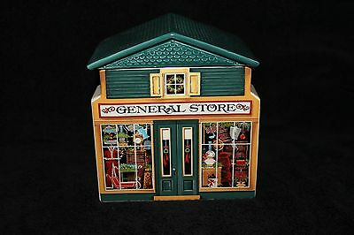 Avon - McConnell's Corners General Store Xmas - Cookie Jar/ Town For Train 1982