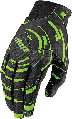 THOR MX Motocross 2016 Kids VOID PLUS Gloves (CIRCULUS Flo Green) Youth X-Small
