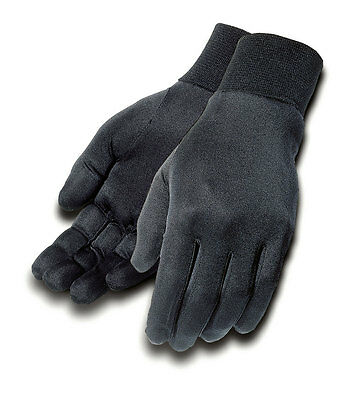 TOURMASTER Silk Motorcycle Glove Liners (Black) S (Small)