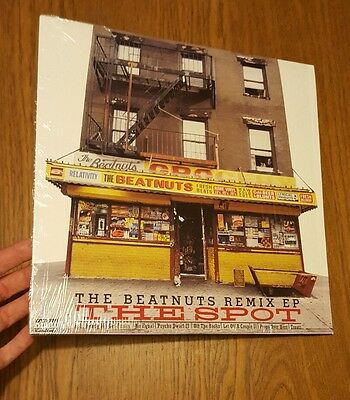 "THE BEATNUTS  REMIX EP The Spot 12"" Single HIP HOP"