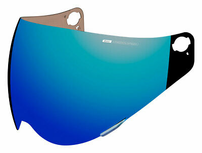 ICON Precision Optics Shield/Visor for Variant Helmets Fog Free RST Mirror Blue