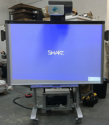 "SMART Board 87"" SBX885-MP, UX60 UST Projector, Speakers and VeriHite Elec. Stand"