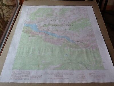 1990 Dep Of Interior Topo Map Lot #79, Hetch Hetchy Reservoir, Calif. Yosemite