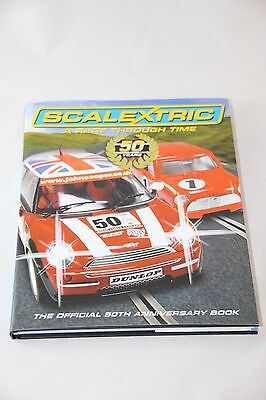 Scalextric Catalogues - C8199 - A Race Through Time - 50Th Anniversary Book