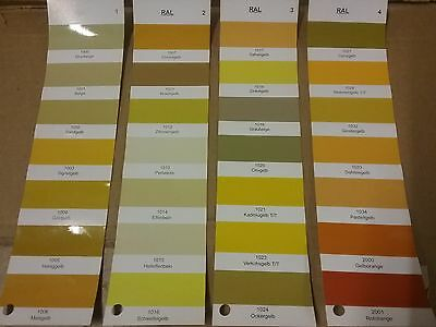 2K HS Direct Gloss  RAL Colours  Yellows (1000's)  Select Colour  Hardener Inc.