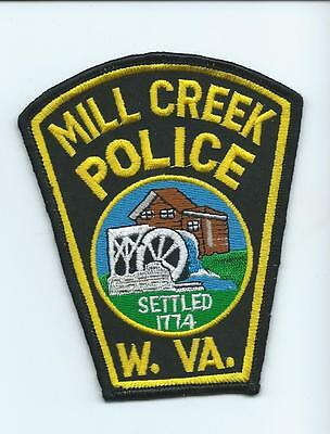West Virginia Police Patch #63