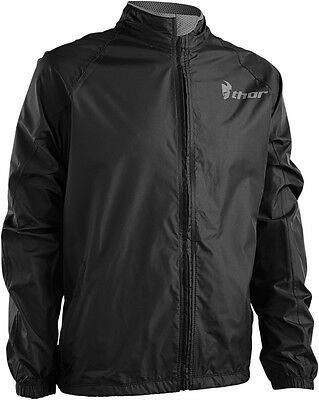 THOR MX Motocross/Offroad/Dual Sport Mens PACK Jacket (Black/Charcoal) X-Large