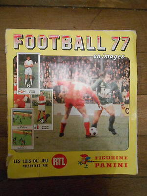 Album PANINI FOOTBALL 1977 - 377 / 432 images