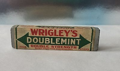 Vintage 1920's Wrigley's Double Doublemint Gum Wood Pack Store Display