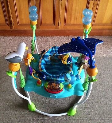 Finding Nemo Activity Jumper Jumperoo Infant Toy Play centre