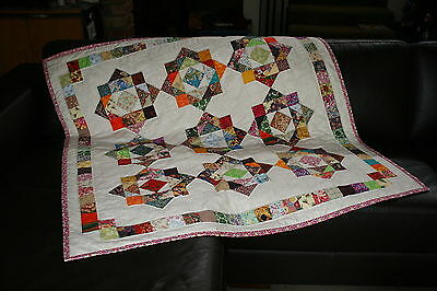 "HODGE PODGE - 49"" - Quilt-Addicts Pre-cut Patchwork Quilt Kit Lap"