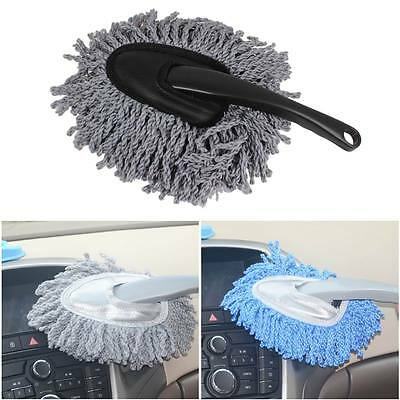 Grey Vehicle Car Wash Duster Cleaning Dirt Dust Sweep Clean Brush Dusting Tool