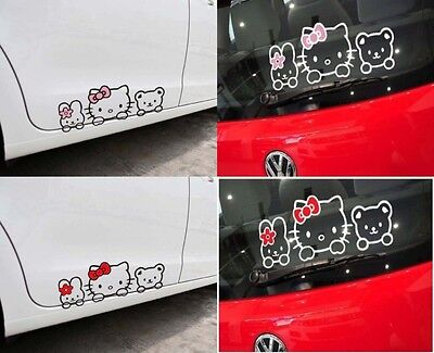 Hello Kitty Car Big Decalcomania Sticker Kitty and her Friends