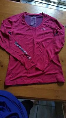 Kathmandu Thermal Wear Thermaplus Women's Ls Top Magenta/rose Size 12 Bnib