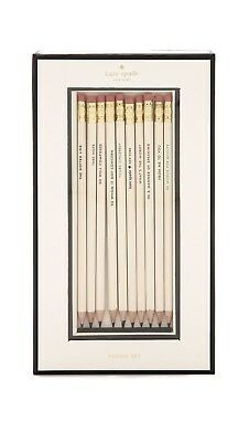 What's the Word Pencil Set by Kate Spade New York motivational office gift