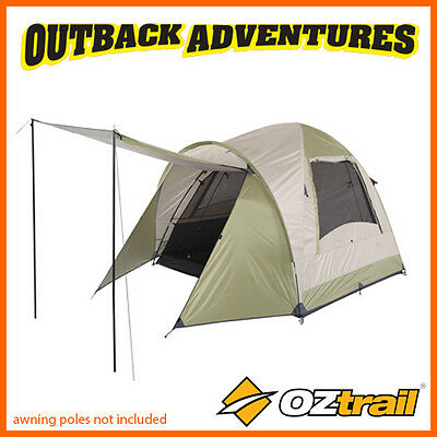 Oztrail Tasman 4V Dome Tent Family Camping Couple Hiking Camp New 2016 Model