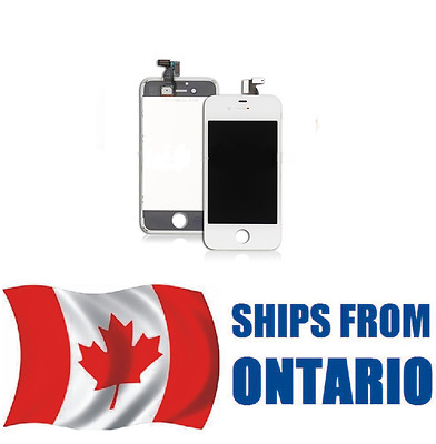 iPhone 4S Assembly Replacement LCD Screen Digitizer    WHITE      ONTARIO CANADA