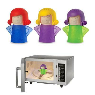 Newest Metro Angry Mama Microwave Cleaner Kitchen Gadget Tool Useful A+++