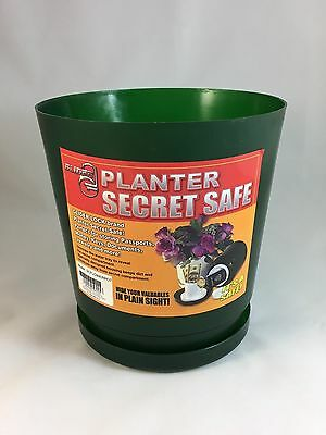 Plant Pot Secret Stash Hide a Key Keeper Hidden Compartment Diversion Safe