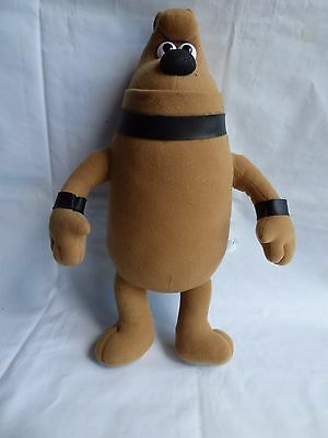 """Wallace And Gromit 14"""" Preston Dog Stuffed Toy Large Big Figure Doll Born Play"""