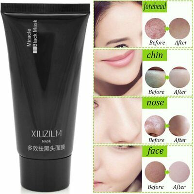 Hot Black Mud Facial Blackhead Remove Peel Off Cleaning Mud Mask New BY