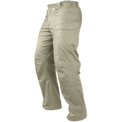 Condor Stealth Operator Pants Mens Combats Tactical Cargo Trousers Ripstop Khaki