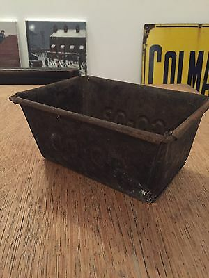 Vintage Original Coop Bread Baking Tin - Reclaimed - Cooperative Rare Not Hovis