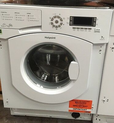 HOTPOINT BHWMD742 7kg Load 1400rpm Spin Integrated Washing Machine