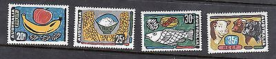 1972 Australian Decimal Stamps - Primary Industries - MNH set of 4