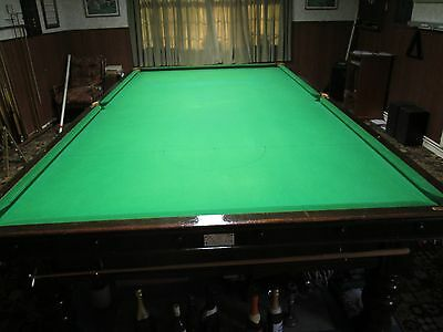 George Wright And Co. Antique Snooker Table - Full Size (12ft) c.1894