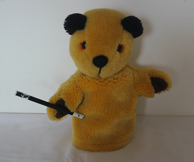 Sooty Hand Puppet From Sooty & Sweep - See Photographs