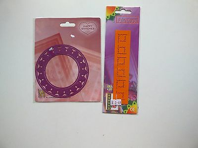 craft room clearout embossing and embroidery stencil card making