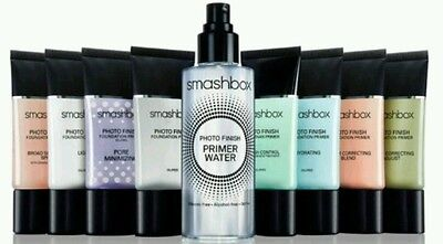 SMASHBOX Photo Finish Oil-Free PRIMER SAMPLES 5ml Travel Size - NEW 100% GENUINE