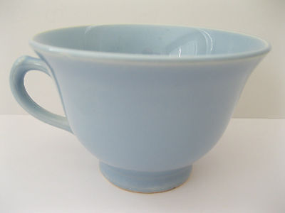 Vintage Pottery Taylor Smith & Taylor Lu-ray Pastel Blue Coffee Tea Cup