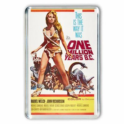 RETRO 60's Raquel Welch 'One Million Years BC' POSTER IMAGE- JUMBO FRIDGE MAGNET