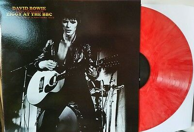 David Bowie - Ziggy At The BBC - Limited Edition Red Marble Vinyl LP - New/Mint