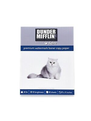 Watermark Boner Paper 50 Sheets The Office Dunder Mifflin Product Recall