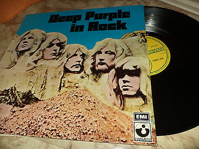 Deep Purple In Rock Greece Different Cover Impossible To Find