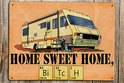 BREAKING BAD Poster Print On A Metal Sign Home Sweet Home Walter White Art