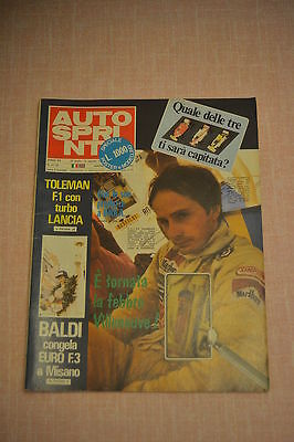 AUTOSPRINT N.31/32 -1980- completo dI POSTER