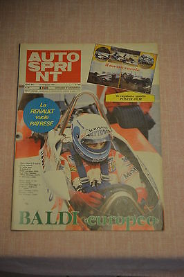 AUTOSPRINT N.33 - 1981- completo di poster-film