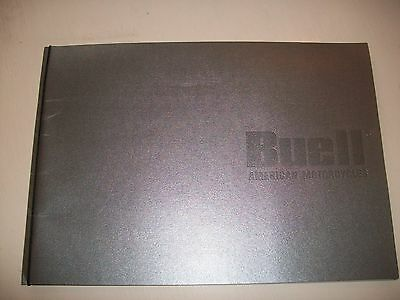Buell American Motorcycles Brochure - collectable