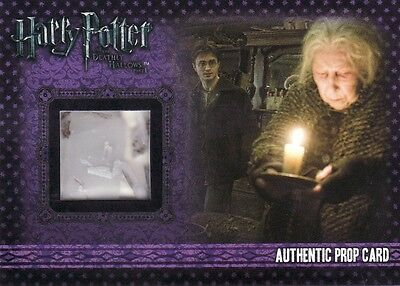 Harry Potter & the Deathly Hallows Pt1 Saucers & Candles P3 Prop Card 001/110