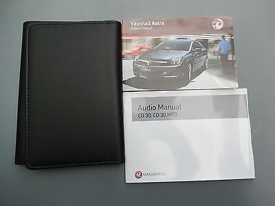 Vauxhall Astra H 2004-2010 Handbook Owners Manual Genuine