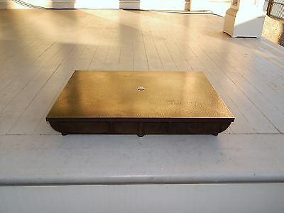"""22"""" X 16"""" Hand Scraped Precision Surface Plate , Lp2  9/16"""" Top 3-1/2"""" Tall"""