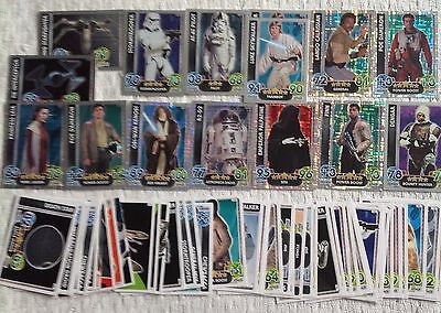 Star Wars Force Attax Trading Cards Bundle 60cards