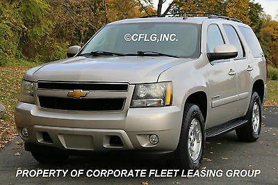 2007 Chevrolet Tahoe LT Sport Utility 4-Door 2007 CHEV TAHOE LT 4WD VERY LOW MILES SUNROOF EXTRA CLEAN IN/OUT FULLY INSPECTED